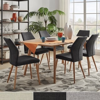 MID-CENTURY LIVING Abelone Scandinavian Oak Dining Set