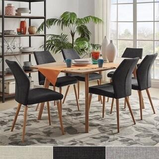 Abelone Scandinavian Oak Dining Set INSPIRE Q Modern