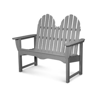 POLYWOOD Classic Adirondack 48-inch Bench (More options available)