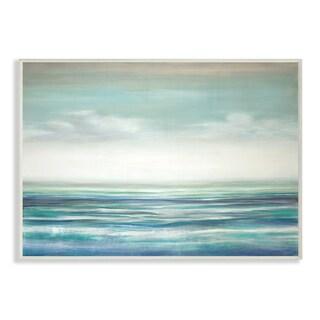 Stupel 'Blue Ocean Sunset' Wall Plaque Art