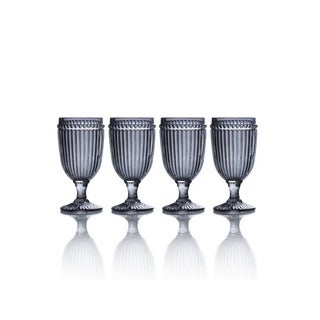 Mikasa Italian Countryside Smoke Iced Beverage Glasses (Set of 4)