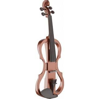 Stagg EVN X-4/4 VBR Violin Burst Silent Violin Set with Soft Case and Headphones|https://ak1.ostkcdn.com/images/products/12683645/P19468477.jpg?impolicy=medium