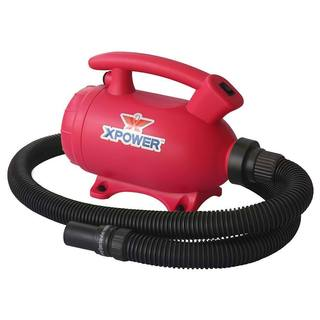 XPOWER B-55 Portable Home Pet Grooming 2-in-1 Dog Force Hair Dryer & Vacuum