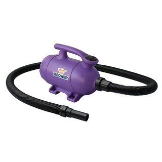 XPOWER B-2 Pro at Home Pet Grooming Force Dryer and Vacuum (Option: PURPLE)