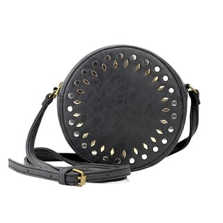 Olivia Miller 'Amelia' Faux Leather Studded Crossbody Bag