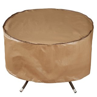 Abba Patio 40-inch Outdoor Patio Water-Resistant Round Fire Pit Cover/Table Cover