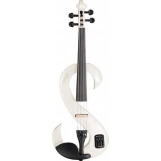 Stagg EVN 4/4 WH White Lacquered Maple Electric Violin Set with Soft Case and Headphones|https://ak1.ostkcdn.com/images/products/12683757/P19468482.jpg?impolicy=medium