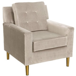 Skyline Furniture Regal Dove Parkview Chair with Metal Legs
