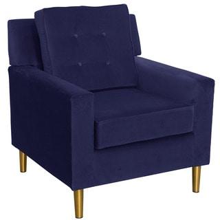 Skyline Furniture Parkview Regal Patriot Blue Metal Leg Chair