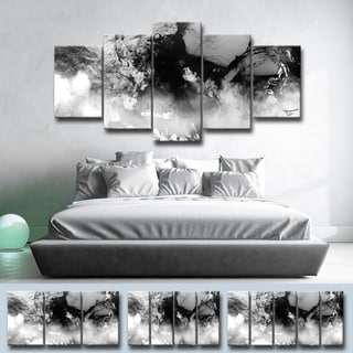 Ready2HangArt 'Glitzy Mist XXI' by Tristan Scott Canvas Art Set