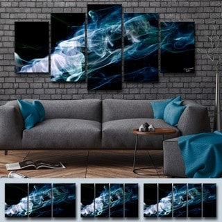 Ready2HangArt 'Glitzy Mist XXIX' by Tristan Scott Canvas Art Set