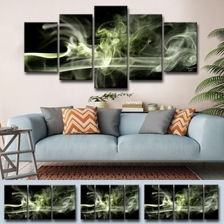Ready2HangArt 'Glitzy Mist XXXI' by Tristan Scott Canvas Art Set