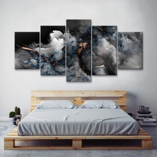 Ready2HangArt 'Glitzy Mist XLIII' by Tristan Scott Canvas Art Set