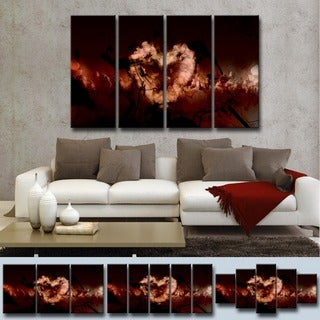 Ready2HangArt 'Glitzy Mist XXXVII' by Tristan Scott Canvas Art Set