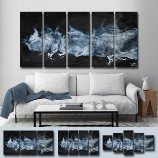 Ready2HangArt 'Glitzy Mist XLIV' by Tristan Scott Canvas Art Set