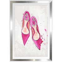 "BY Jodi ""Dior 1"" Framed Plexiglass Wall Art"