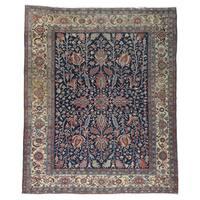 Heriz Antique Persian All Over Design Oriental Rug (9'9x11'9)