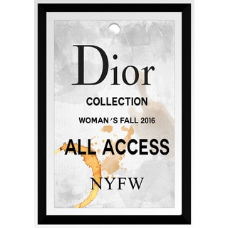 "BY Jodi ""Dior All Access"" Framed Plexiglass Wall Art"