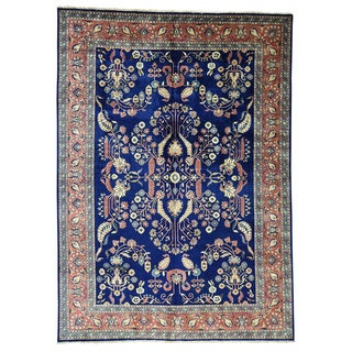 Sarouk Fereghan Multi-colored New Zealand Wool Hand-knotted Oriental Rug (9'3 x 13')