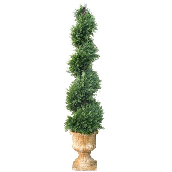 National Tree Company 54-inch Slim Spiral Artificial Juniper