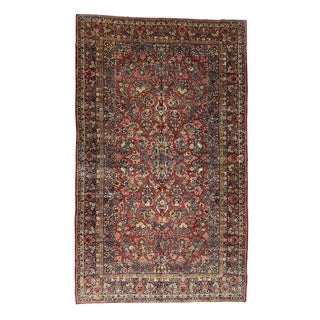 1800GetaRug Antique-style Persian Sarouk Hand-knotted Wool Oversize Rug (10'6 x 17'5)