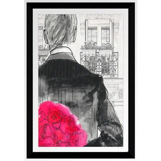 "BY Jodi ""First Date B"" Framed Plexiglass Wall Art"