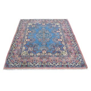 Persian Kerman Full Pile Antique Hand-knotted Rug (3'10 x 5')