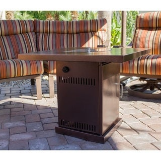 Hiland GSF-PR-PC Conventional Propane Fire Pit