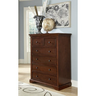 Walnut Street Chestnut Finish 6-drawer Chest