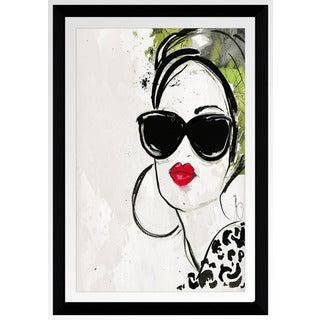 """BY Jodi """"In Style 2"""" Framed Plexiglass Wall Art"""