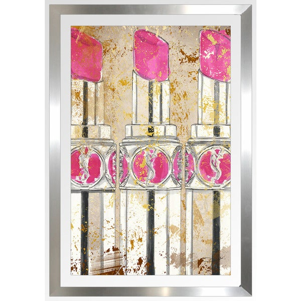 "Kiss And Makeup Store: Shop BY Jodi ""Kiss And Makeup"" Framed Plexiglass Wall Art"