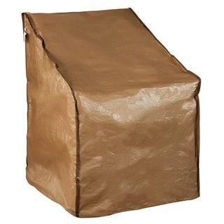 Abba Patio Brown Polyester 31 x 27.5 x 40 Outdoor Patio Single Porch Chair Cover