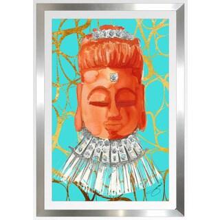 "BY Jodi ""Namasta Here"" Framed Plexiglass Wall Art"