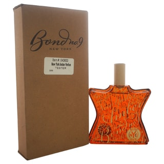 Bond No. 9 New York Amber Unisex 3.3-ounce Eau de Parfum Spray (Tester)