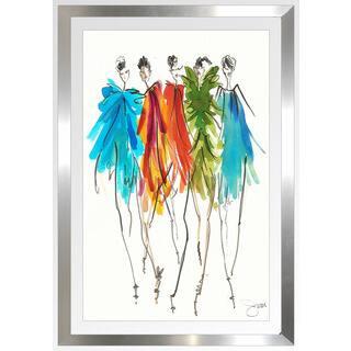 """BY Jodi """"On Fleek 1"""" Framed Plexiglass Wall Art"""