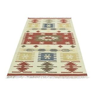 Handmade Anatolian Durie Kilim Oriental Wool Flatweave Rug (3'1 x 5')