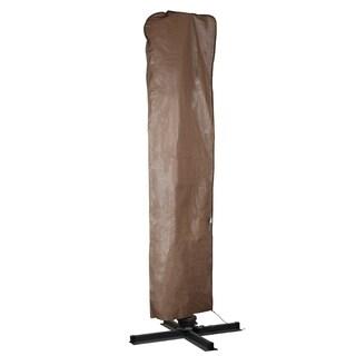 Abba Patio Outdoor Market Patio Offset Brown Cantilever Umbrella/Parasol Cover for 9-11 Ft Umbrella