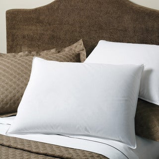 White Down and Feather 230 Thread Count Chamber Pillow