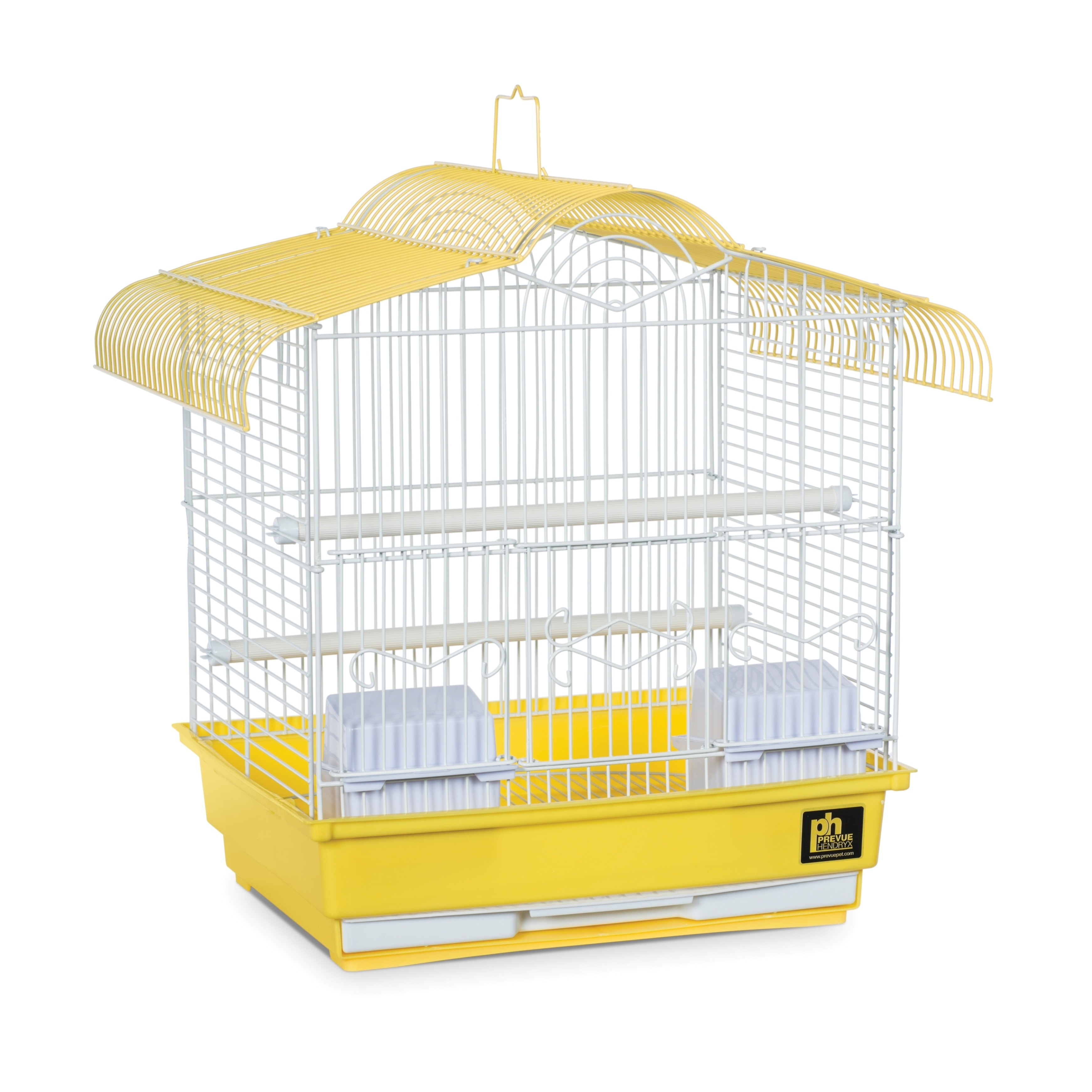 Prevue Pet Products Small Bird Cage (Yellow), White, Size...
