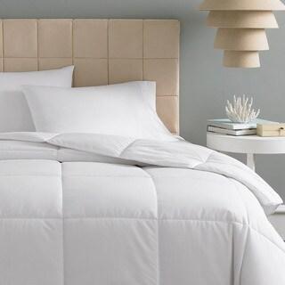 White Goose Down Medium Warmth Cambric Cotton Comforter