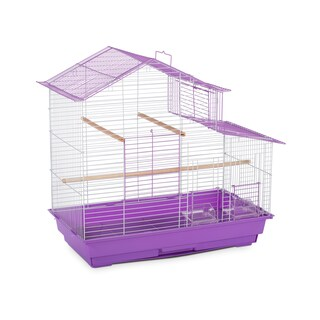 Prevue Pet Products House Style Small Bird Cage (Option: Purple)