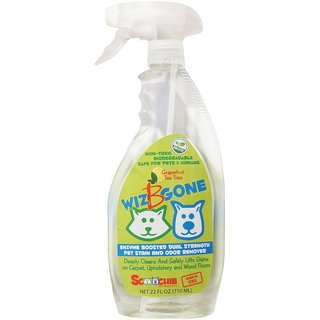 Scoochie Pet Products Wiz B Gone 1-gallon Pet Stain and Odor Remover for Carpet and Upholstery