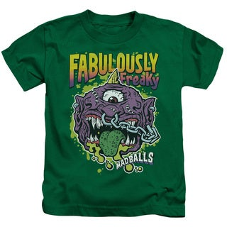 Madballs/Fabulously Freaky Short Sleeve Juvenile Graphic T-Shirt in Kelly Green