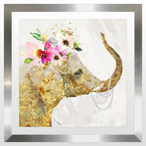 "BY Jodi ""All Good Things"" Framed Plexiglass Wall Art"