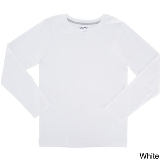 French Toast Boys' Long-sleeve Crew Neck Tee