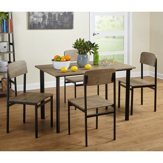 Simple Living 5-piece Piazza Rectangular Dining Set