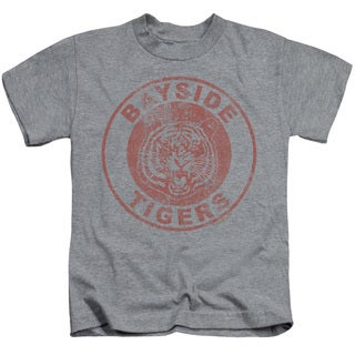 Saved By The Bell/Tigers Short Sleeve Juvenile Graphic T-Shirt in Heather