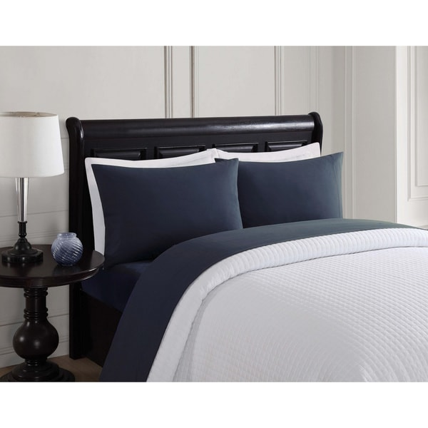 London Fog Solid 6-Piece Microfiber Sheet Set
