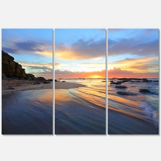 Exotic Seashore Sunrise Australia - Seashore Metal Wall At - 36Wx28H