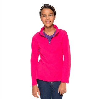 French Toast Girls' Mock-neck Fleece Pullover (Option: 6x)